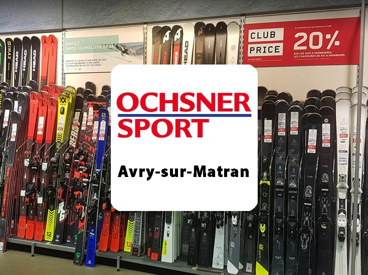 OCHSNER SPORT | AVRY-CENTRE